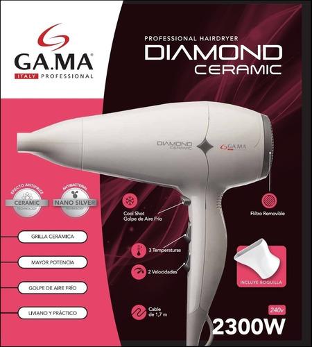 secador de pelo gama diamond ceramic  2300w