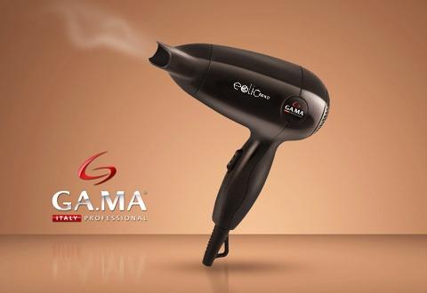 secador de pelo gama eolic nano 1300w pequeño compacto