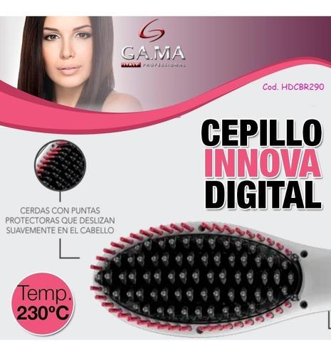 secador de pelo gama eolic pocket + cepillo innova digital