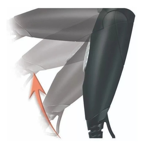 secador de pelo gama eolic travel de viaje plegable boquilla