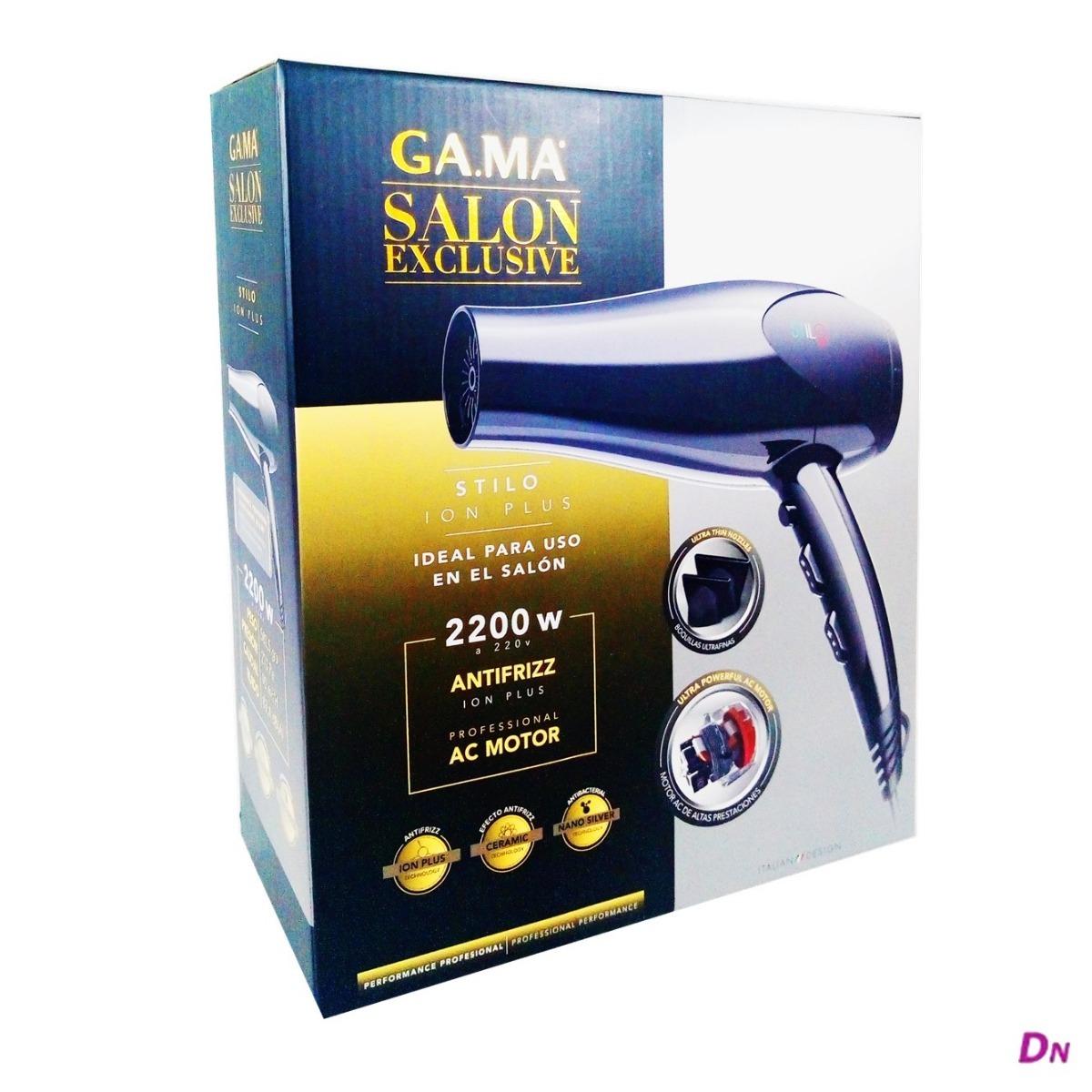 secador de pelo gama salon exclusive stilo ion plus 2200w. Cargando zoom. c4a4767e6fbb