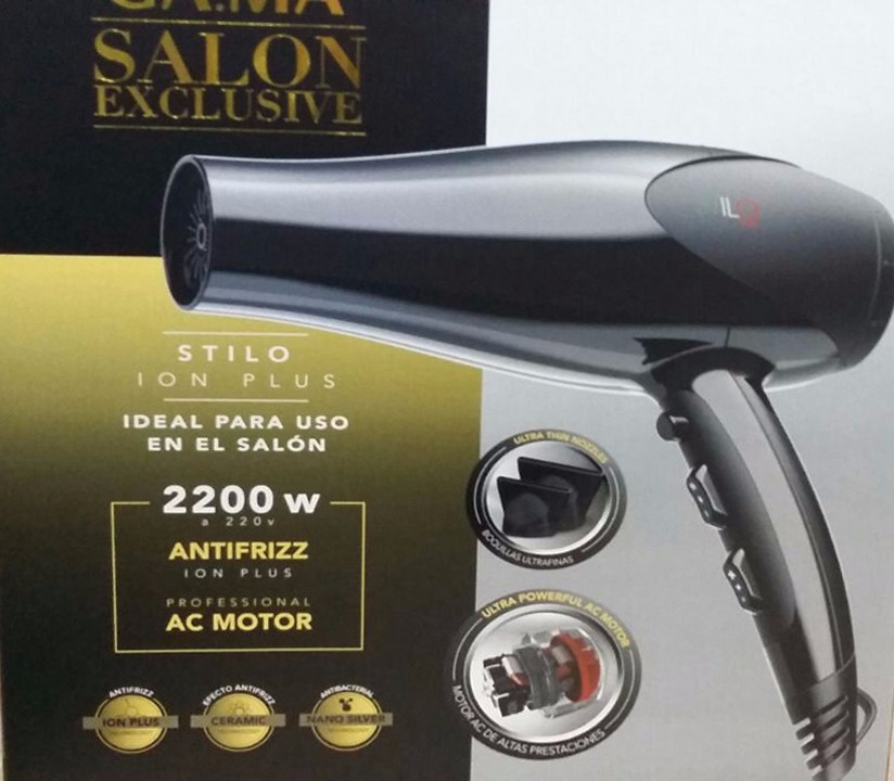 secador de pelo gama stilo ion plus 2200w salon profesional. Cargando zoom. 43208b2e6183