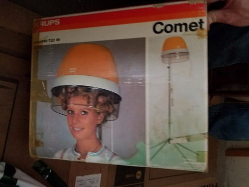 secador de pelo krups comet