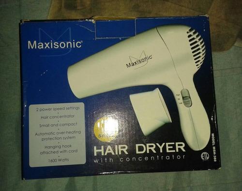secador de pelo maxisonic