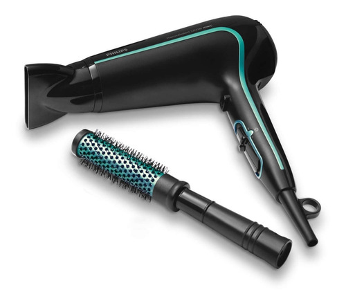 secador de pelo philips bhp942/00 dry care + bolso + cepillo