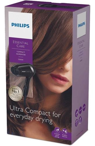 secador de pelo philips esentialcare bhd001 1200w 2 vel