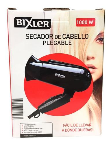 secador de pelo plegable bixler beb-07c mango plegable pc