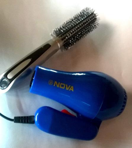 secador de pelo portátil nova 850w plegable ideal viajes