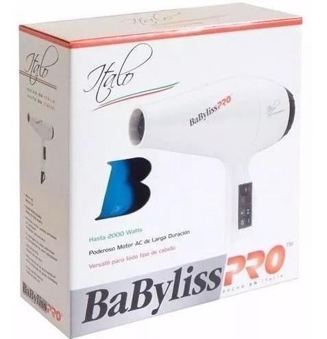 secador de pelo profesional italo  babyliss pro