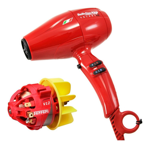 secador de pelo profesional volare v2 compact motor ferrari