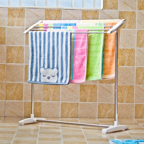 secador de roupas para varanda varal chao toalheiro portatil