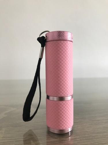 secador de uñas portatil tipo linterna led