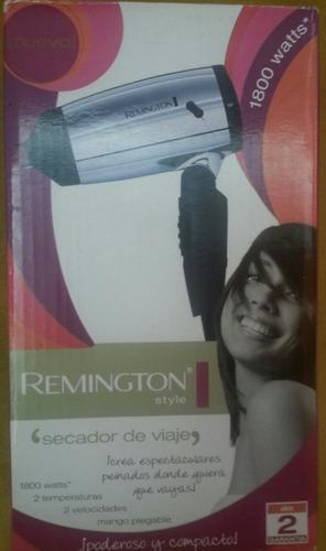 secador de viaje remington viajero