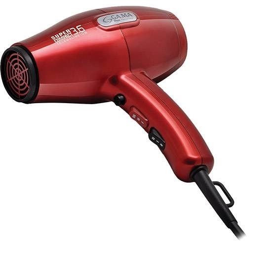 8370aee99 Secador Gama Italy Super Compact 3.6 Ion Red 220v - R  129