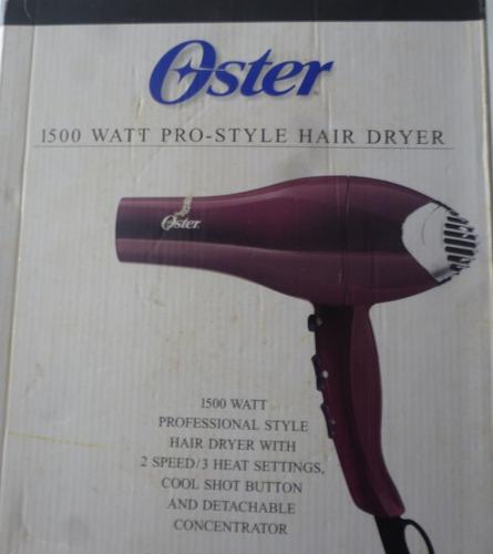 secador  oster