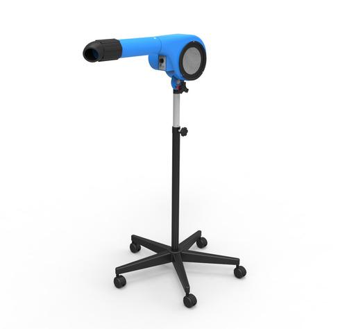 secador para animais minag 3 temperaturas azul