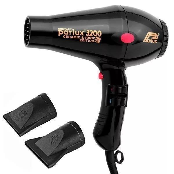 Secador Parlux 3200 Compact Preto - 1900w 220v - R  900 5c7987d939c6