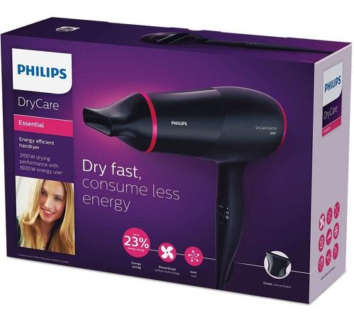 secador pelo philips drycare bhd029 ionico cool shot 1600w