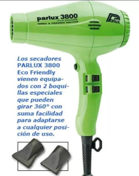 Secador Profesional Parlux 3800 2 Picos. Envio Gratis -   3.900 e81ab981b50f