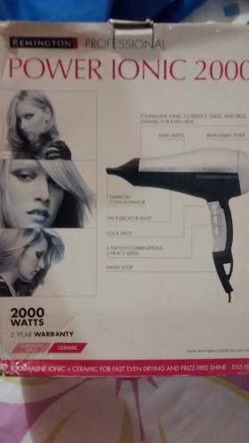 secador remington power ionic 2000 profesional d-5510