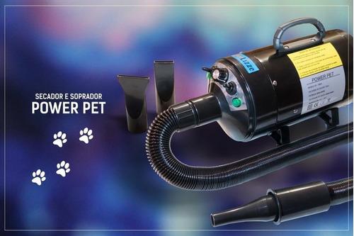 secador soprador power petlizze -2400w- regulador de vazão