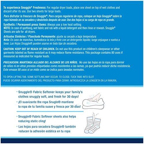 secador suavizante suavizante ropa azul sparkle 80 unidades