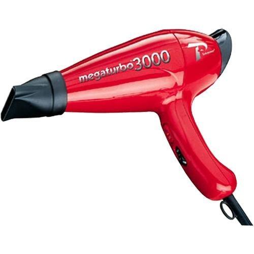 secador turbo power megaturbo 3000 rojo