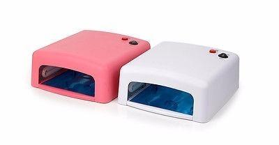 secador uv lampara manicure seca uñas esmalte y permanente