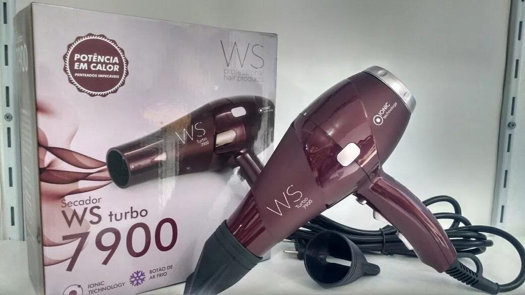 Secador Ws Turbo 7900 Profissional Hair Products 220v 2300w - R  249 ... ccb8345dba3d