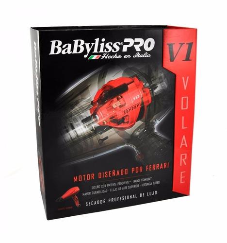 secadora babyliss pro motor ferrari volare v2 profesional