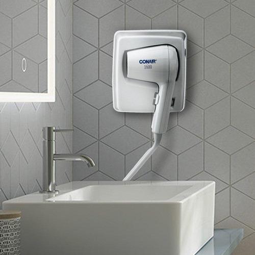 secadora de cabello hotelera empotrable conair mod. 110wm