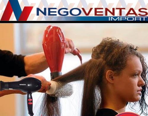 secadora de cabello nova 2200 watts potente super promocion