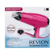 secadora de cabello revlon essentials stylie 1875watts difus