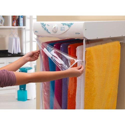 secadora de roupas fischer amiga azul hippie com timer 4kg
