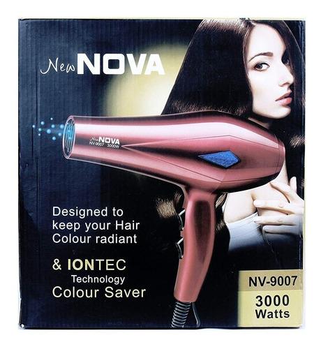 secadora de uso personal nova nv-9006