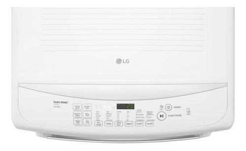 secadora lg a gas dt21ws 21kg 46lb panel frontal smart
