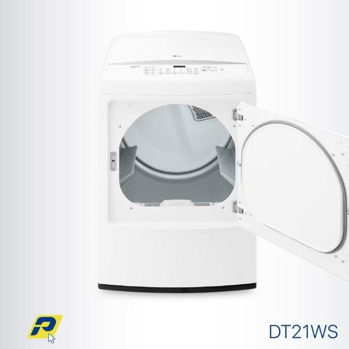 secadora lg carga frontal a gas 21 kilos smart diagnosis