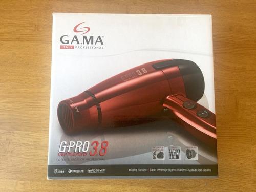 secadora profesional gama g-pro infrared 3.8 italy en caja