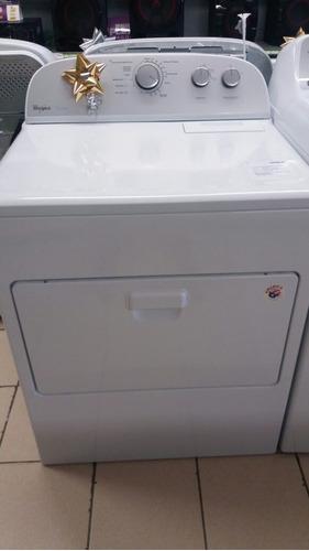 secadora whirlpool electrica md (7mwed5600bw) nuevo en caja
