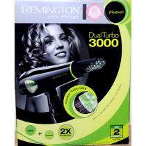 Secador Remington Profesional D-3700 Dual Turbo 3000