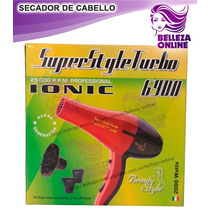Secador De Cabello Superturbo Ionic 25.000 R.p.m Profesional