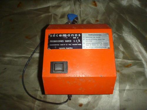 secamanos automatico electrico aire caliente