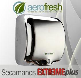 secamanos electrico aerofresh extreme plus seca 10 segundos