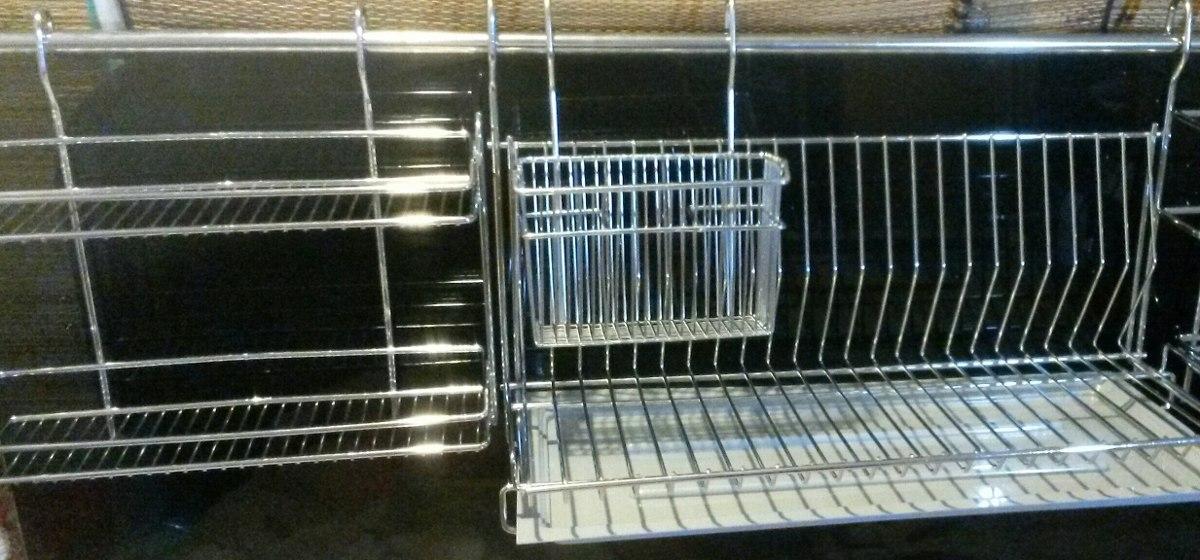 secaplatos escurridor de platos para colgar con especiero. Cargando zoom. 325e09f95b4f