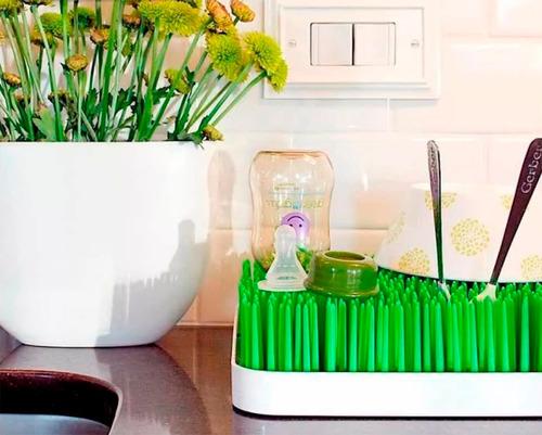 secaplatos escurridor seca mamaderas y accesorios pasto