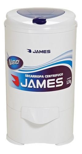 secarropas centrifugo james 5.2 kg c752 sensacion