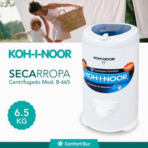 secarropas centrífugo kohinoor 6.5kg b665 2800rpm env **10