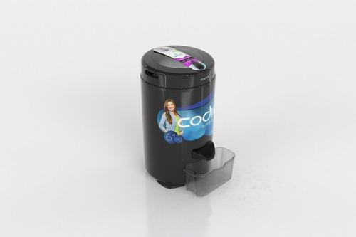 secarropas codini innova 6.1 kg tambor acero 2800 rpm negro