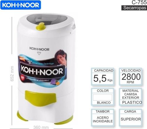 secarropas kohinoor c-755