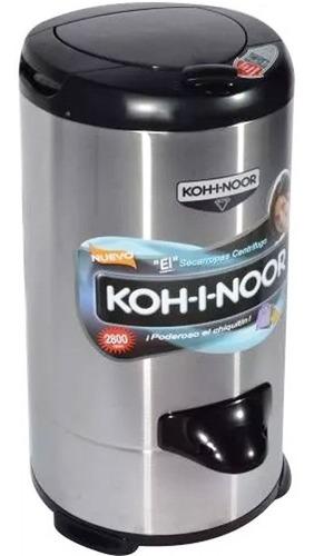 secarropas kohinoor linea acero inox 6.5 kg a665 2800 rpm r